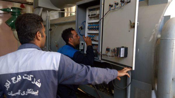 پروژه تاسیساتی نجف آباد